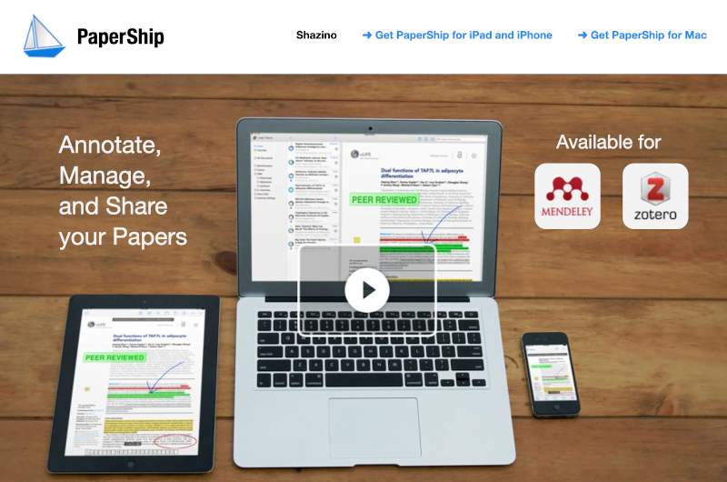 PaperShip for iPhone and Mac